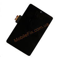 Дисплей Asus ME370 Google Nexus 7 +  тачскрин (1 поколение 2012), чёрный