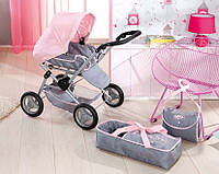 Коляска для кукол Baby Born 3 в 1 Deluxe Pram Zapf Creation  821343