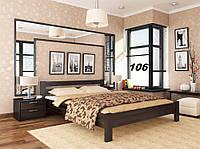Кровать Рената двуспальная Бук Щит 106 (Эстелла-ТМ)