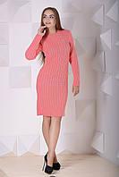 Вязаное женское платье Шанель (7 расцветкок)