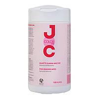 NEW Barex JOC Color Салфетки для снятия остатков краски с кожи головы 100шт/уп.