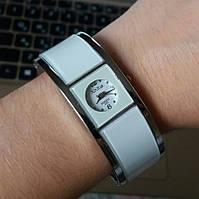 Женские часы-браслет XinHua с белой эмалью
