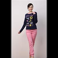 Пижама женская ELLEN с длинным рукавом