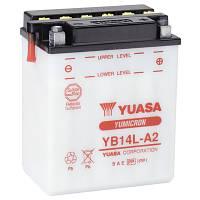 Аккумулятор мотоциклетный 14Ah 175A YUASA YB14L-A2 Kawasaki , Suzuki , Yamaha , Honda , Aprilia , Gilera
