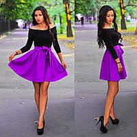 """Платье """"Веер"""" цвета"""