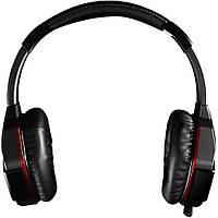 Наушники игровые Bloody G501 с микрофоном, USB, 7.1 виртуальный звук, черно-красные