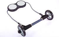 Колесо для пресса двойное (ролик для пресса) с эспандером