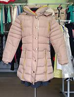 Пуховик куртка на девочку 8-16 лет