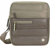 Текстильная мужская наплечная сумка Roncato Boston 2304/45 коричневый