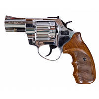 """Револьвер Trooper 2.5"""". Револьвер под патрон Флобера, цинк хром пластик/под дерево"""