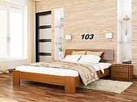 Кровать Титан Бук Щит 103 (Эстелла-ТМ)