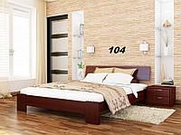 Кровать Титан Бук Щит 104 (Эстелла-ТМ)