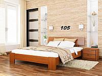 Кровать Титан Бук Щит 105 (Эстелла-ТМ)