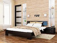 Кровать Титан Бук Щит 106 (Эстелла-ТМ)