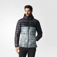 Куртка с капюшоном для мужчин Adidas Climaheat Frost Print AP8314 - 2016/2