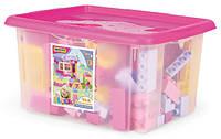Конструктор 132 элемента в коробке для девочек Wader, 41280, Вадер для детей