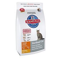 Hills Science Plan Feline Young Adult Sterilised Cat Курица  3,5кг*2ш- для кастрированных котов и кошек (9354)