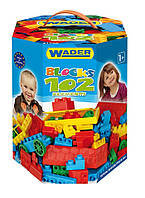 Конструктор 102 элемента в коробке Wader, 41290, Вадер для детей