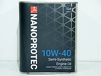 Масло моторное Nanoprotec 10w40 1л
