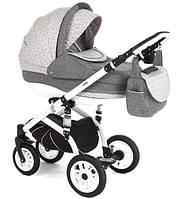 Детская коляска универсальная 2 в 1 Lara Len 227W Adamex