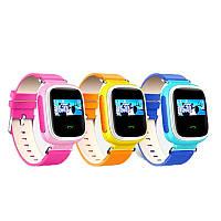 Детские часы-телефон с GPS трекером Q60S цветной экран - настройка бесплатно