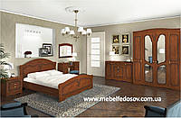 Николь набор в спальню №3 (Сокме) орех классический/яблоня патинированная