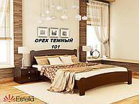 Кровать Венеция Люкс двуспальная Бук Щит 101 (Эстелла-ТМ)