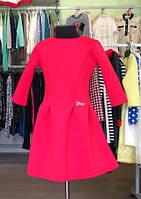 Красное платье Dior 140 см