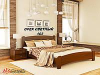 Кровать Венеция Люкс двуспальная Бук Щит 103 (Эстелла-ТМ)