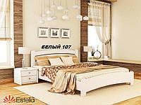 Кровать Венеция Люкс двуспальная Бук Щит 107 (Эстелла-ТМ)