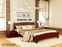 Кровать Венеция Люкс двуспальная Бук Щит 108 (Эстелла-ТМ)