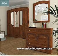 Николь набор мебели (Сокме) орех классический/яблоня патинированная