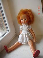 Игрушка кукла рыжая девочка СССР