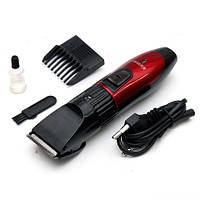 Машинка для стрижки волос триммер с регулятором + насадки NHC-6015