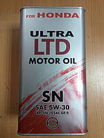 Масло моторное синтетическое HONDA 5W-30 4л.- производства Германии