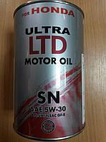 Масло моторное синтетическое HONDA 5W-30 1л.- производства Германии