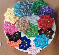 Термонаклейки цветы 50 шт.