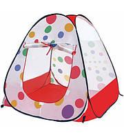 Детская игровая палатка М 021  90х90 см.
