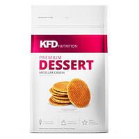 Протеин Казеиновый  KFD Nutrition Premium Dessert Micelar Casein 700 g (Cream - Biscuit)