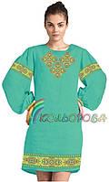 Заготовка платья с длинным рукавом 094