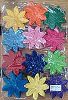 Термонаклейки цветы 120 шт