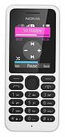 Мобильный телефон Nokia 130 Dual Sim White, фото 1
