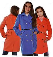 """Пальто для девочки кашемировое """"Рената"""""""