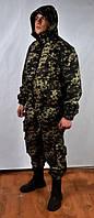 Пограничный камуфляжный костюм с капюшоном