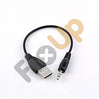 Кабель USB Aux 3,5 мм