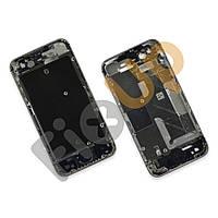 Средняя часть корпуса для iPhone 4S, цвет серебряный