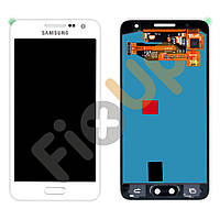 Модуль Samsung A300F, 3500H, A300FU Galaxy A3: дисплей + тачскрин (сенсор), цвет белый