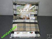 Плед-покрывало VLADI двуспальный размер 50% шерсти