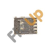 Слот для сим карты LG G3 (D850, D855)