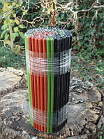 Свечи восковые АССОРТИ Три цвета в одной пачке №60, 162 шт -1 кг, фото 1